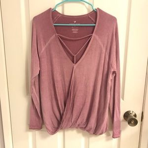 AEO Long sleeve top